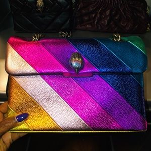 Kensington Rainbow Metallic Crossbody Bag